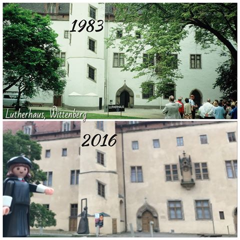 Luther House Now and Then