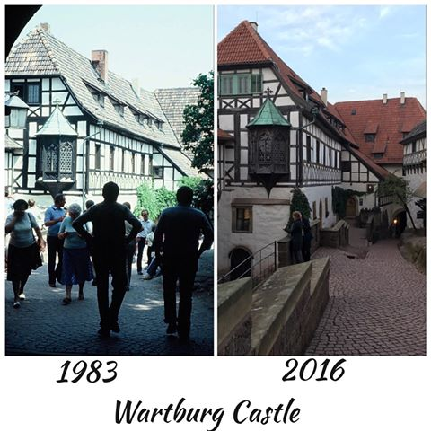 Wartburg Castle Now and Then