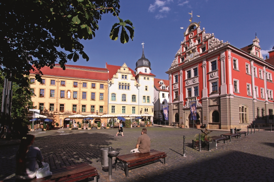 Market square in Gotha © Andreas Weise, Thuringia Tourist Board