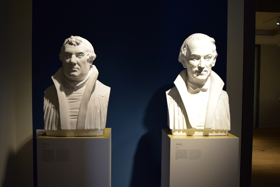 Melanchthon and Luther © LutherCountry