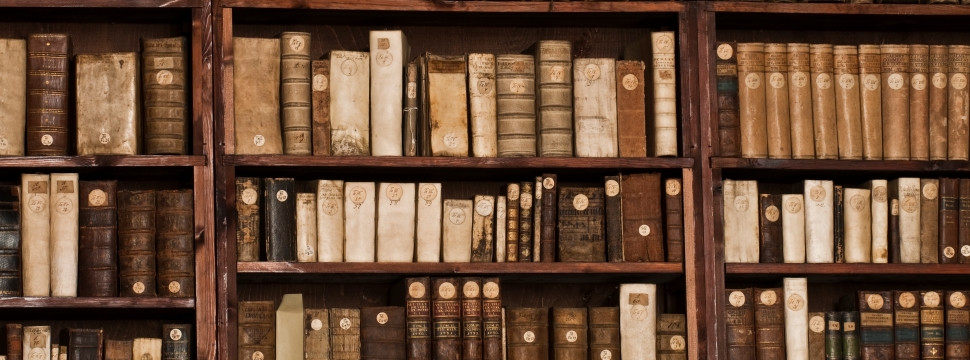 Old books in the library of Erfurt © Toma Babovic, Thuringia Tourist Board
