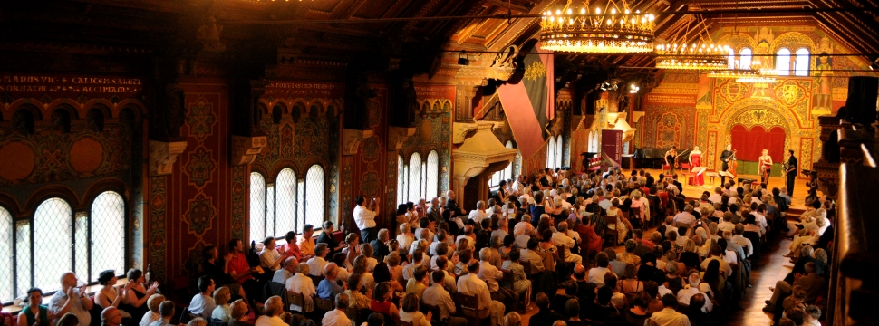 Events at the Wartburg in Eisenach © Christiane Hoehne, MDR