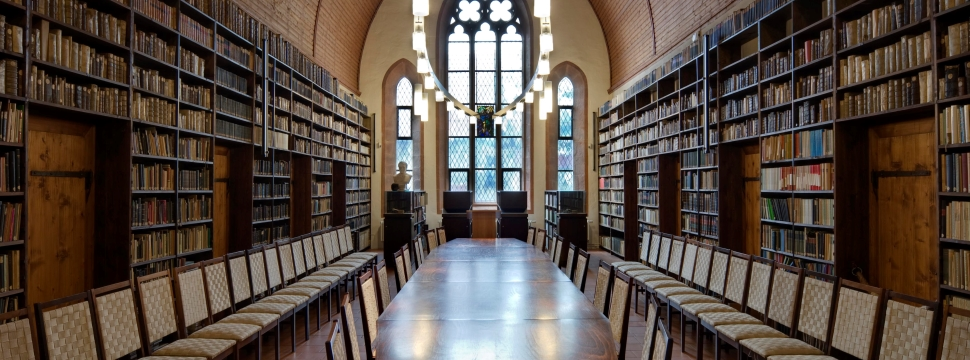 Library in the Augustinian Monastery in Erfurt © Toma Babovic, Thuringia Tourist Board